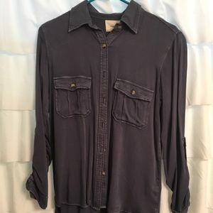 Harper Nwot Super soft chambray blouse never worn